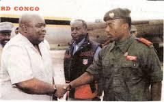 André Kisase Ngandu e Laurent-Désiré Kabila