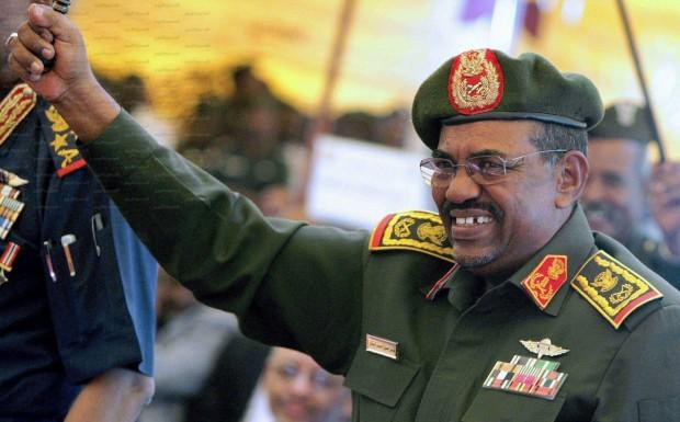 Il presidente sudanese Omar al Bashir al potere, dopo un colpo di Stato, dal 30 giugno 1989