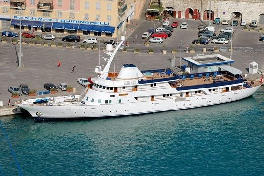 Paloma, lo yacht di Vincent Bolloré
