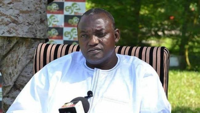 Adama Barrow, presidente del Gambia