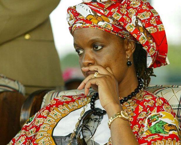 Grace, moglie del presidente dello Zimbabwe, Robert Mugabe