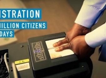 Registrazione delle impronte digitali