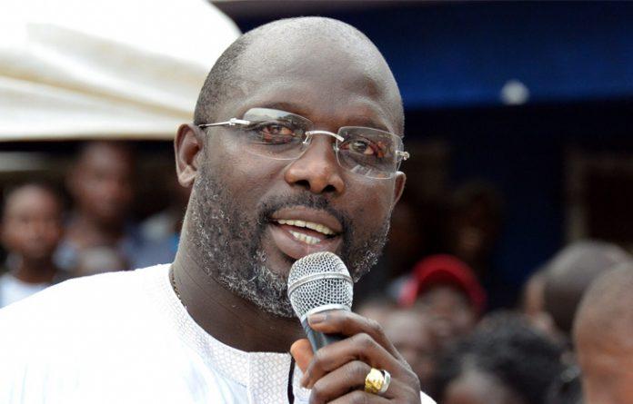 George Weah, ex pallone d'oro, possibile futuro presidente della Liberia