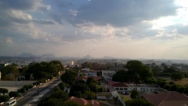 Panoramica di Nampula, Mozambico