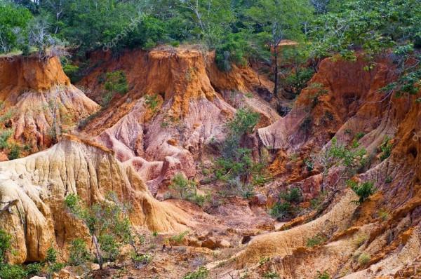 Scorcio dell'Orrido di Marafa nel Magarini Costituency