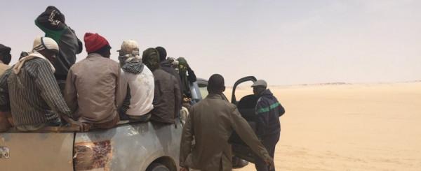 Migranti in viaggio dal Niger alla Libia