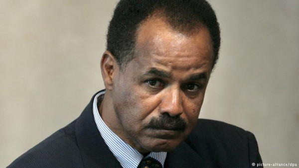 Isaias Afeworki, presidente dell'Eritrea