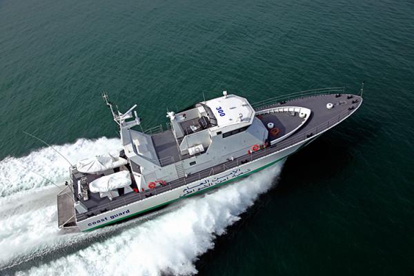 Motovedetta italiana in dotazione alla Guardia costiera libica