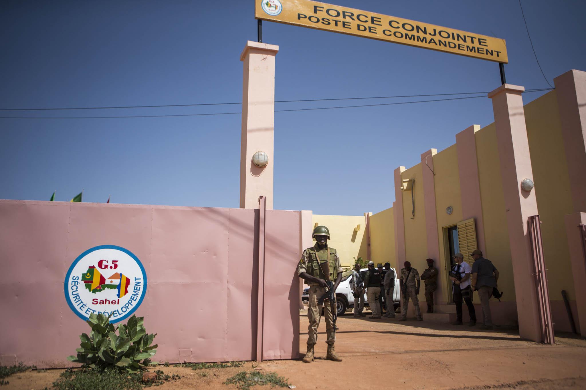 Quartier generale della Force G5 Sahel a Sévaré, Mali