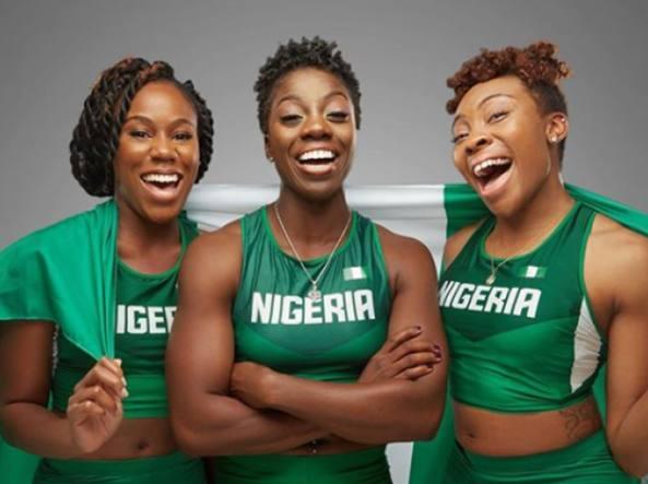 Team delle ragazze nigeriane del Bob