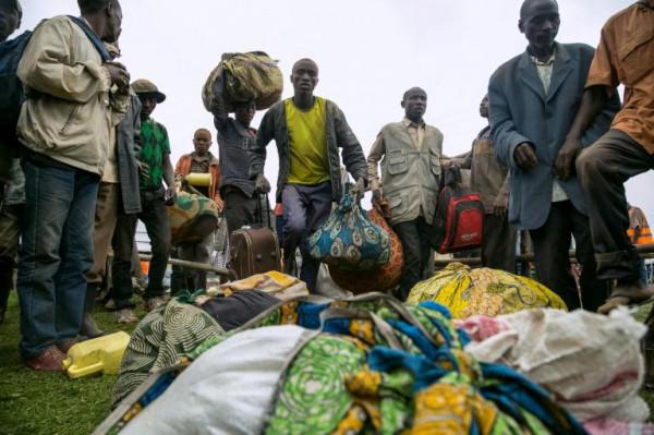Popolazione in fuga dalla provincia di Ituri, Congo-K