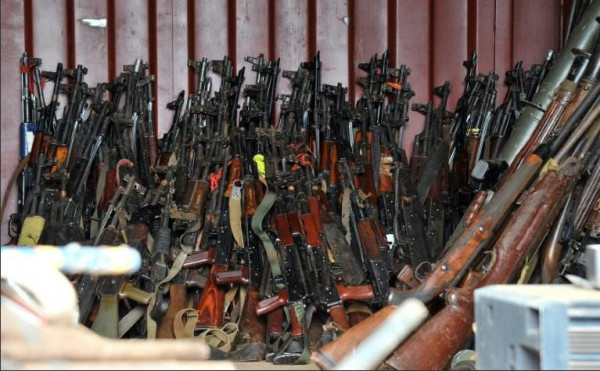 Armi russe per il Centrafrica