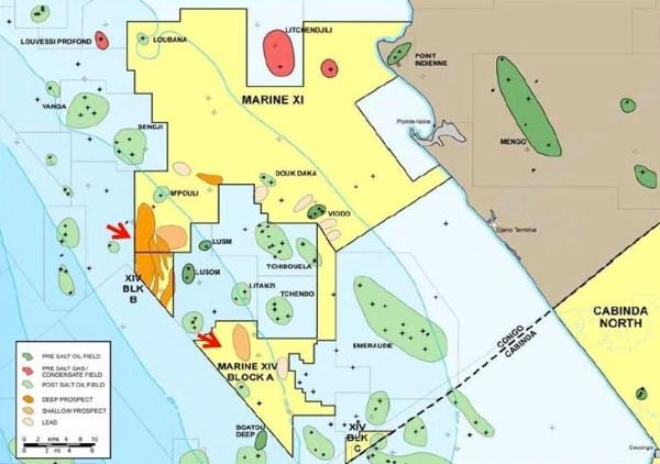 Il giacimento off-shore della Repubblica del Congo, Marine XI
