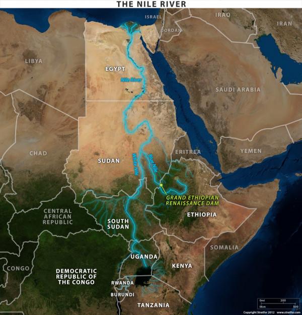 Il percorso del Nilo