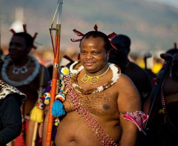 Il sovrano dello Swaziland Mswati III