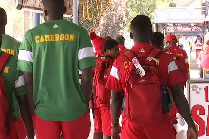Atleti del Camerun ai XXI Giochi del Commonwealth in Australia