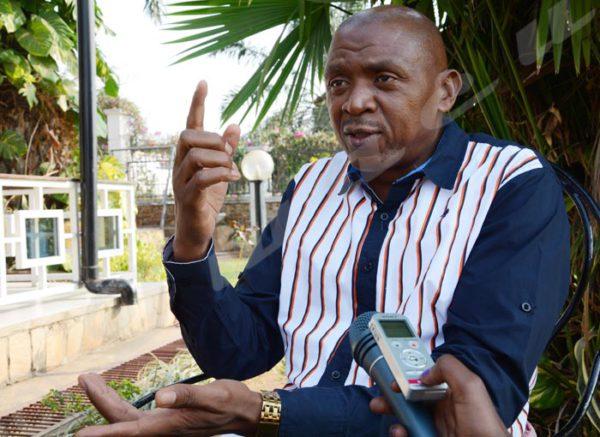 Agathon Rwasa, leader della coalizione all'opposizione in Burundi