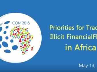 Logo della conferenza sui flussi finaziari illeciti in Africa