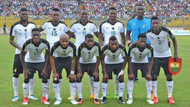 """Le """"Black Stars"""" - la nazionale di calcio del Ghana"""