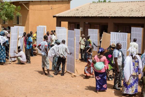 Seggio elettorale in Mali