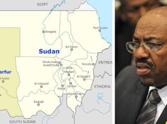 A destra Omar al Bashir presidente del Sudan