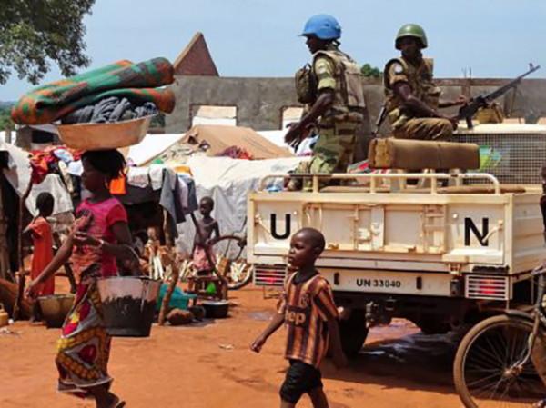 Minusca, i caschi blu dell'UNU in Centrafrica