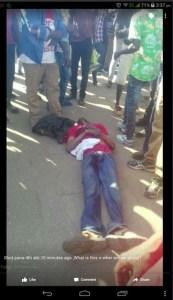 Zimbabwe, ferito durante le proteste post elettorali