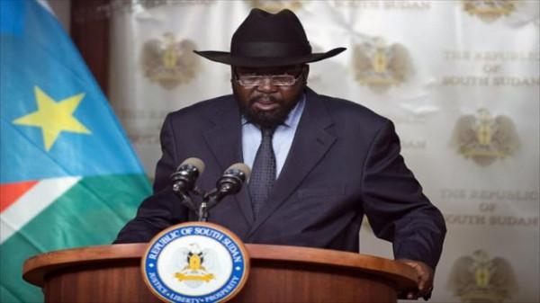 Il presidente del Sud Sudan Salva Kiir