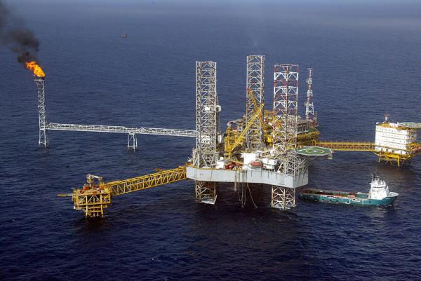 Piattaforma petrolifera in Nigeria
