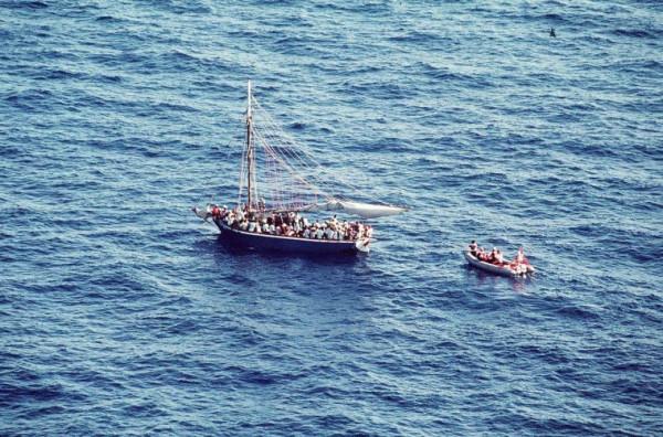 Naufraghi etiopici a largo delle coste della Tanzania