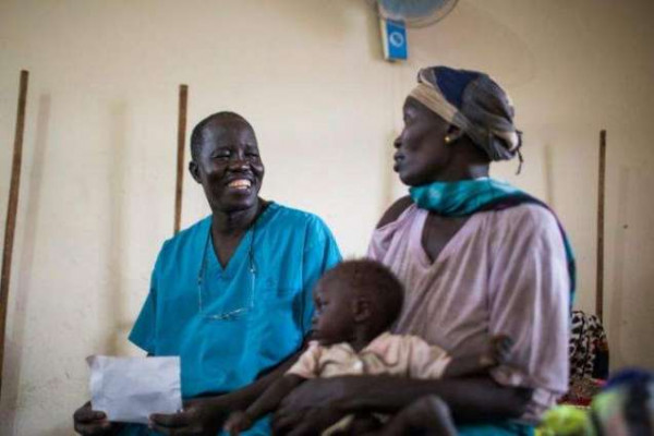 Evan Atar Adaha, il medico sud sudanese, vincitore del Premio Nansen 2018