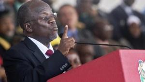 Il presidente della Tanzania, John Magufuli
