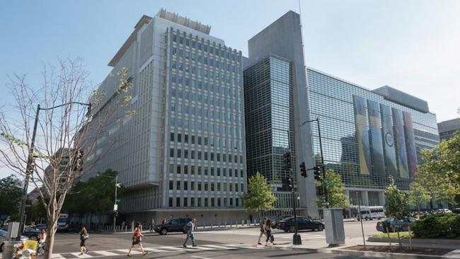 Il quartier generale della World Bank (Banca Mondiale) a Washington