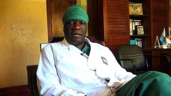 Il ginecologo e ostetrico Denis Mukwege nel suo ospedale in Congo