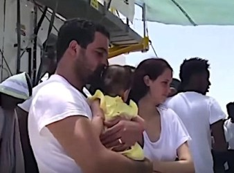 Migranti salvati dalla nave Aquarius