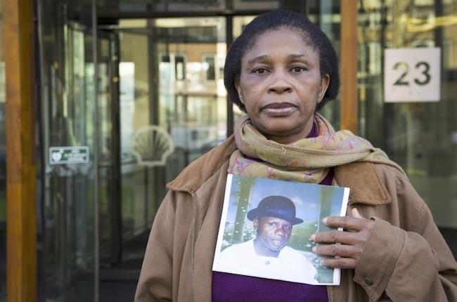 Esther Kiobel, vedova di Barinem, impiccato dopo un processo farsa del 1995 in Nigeria (Courtesy Amnesty International)