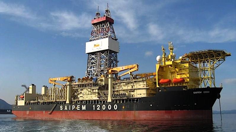 Saipem 12000 utilizzata per le perforazioni off-shore