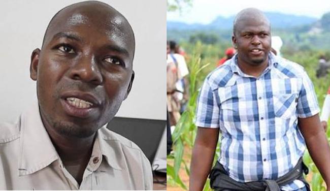 Da sin. i giornalisti Amade_Abubacar e Pindai Dube arrestati mentre lavoravano a Cabo Delgado