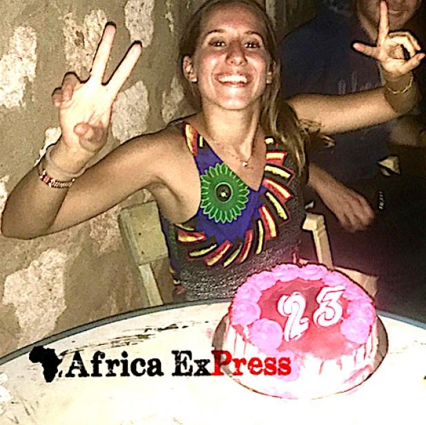 Silvia Romano festeggia i suoi 23 anni