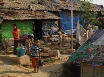 Campo profughi rohingya a Cox's Bazaar