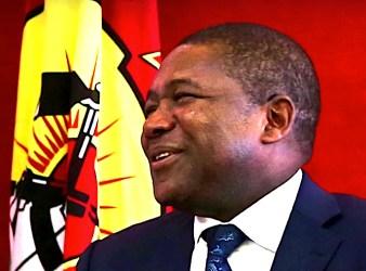 Filipe Nyusy, al suo secondo mandato alla presidenza della Repubblica del Mozambico