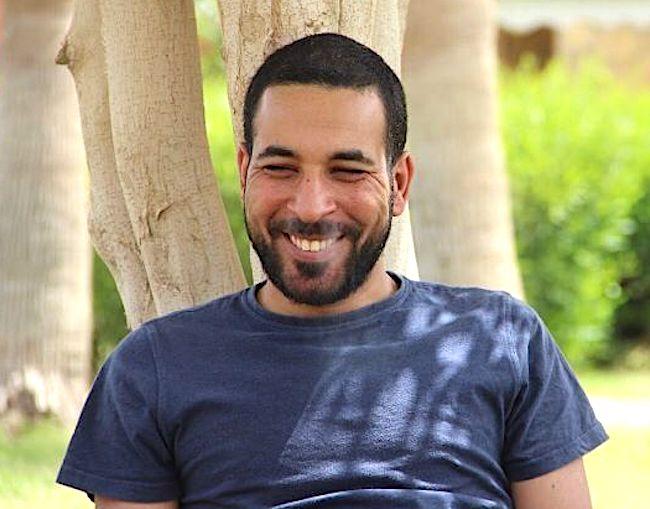 Una foto del giornalista Shady Zalat, pubblicata da Maga Masr