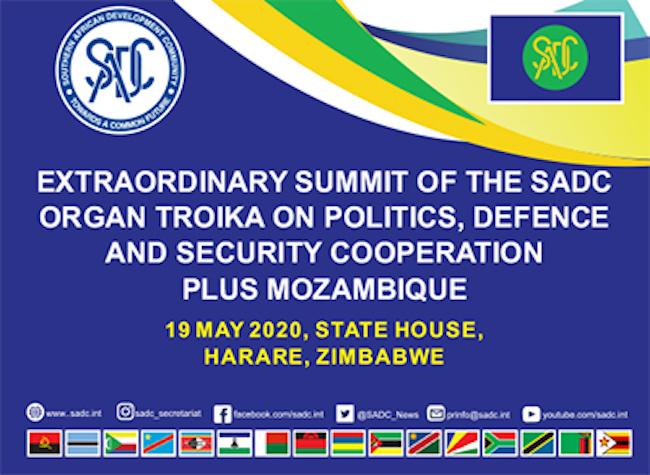 Summit SADC sulla sicurezza