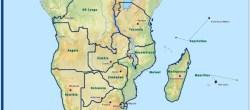 Mappa dei Paesi membri SADC (Courtesy SADC)