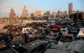 Esplosione a Beirut bomba