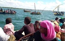 CJI Profughi in fuga via mare da Mocimboa da Praia a causa degli attacchi jihadisti