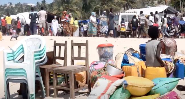 Cabo Delgado, sfollati fuggiti dalla guerra in arrivo a Pemba