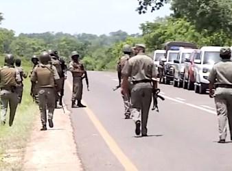 giacimenti di gas - militari mozambicani