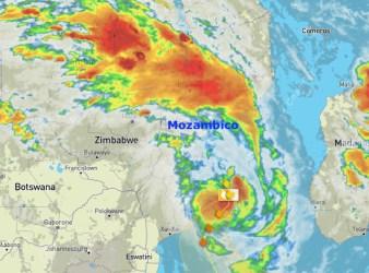 ciclone Guembe