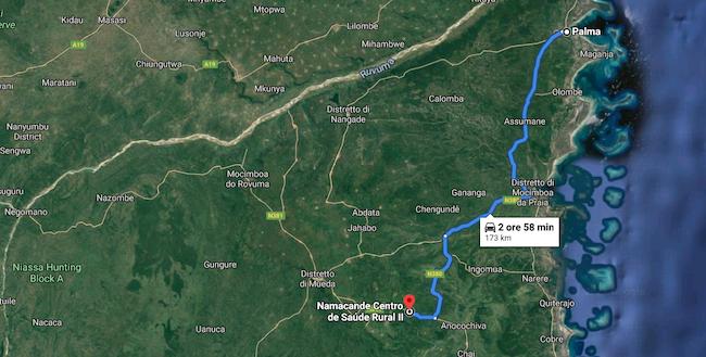 mappa Palma Namacande